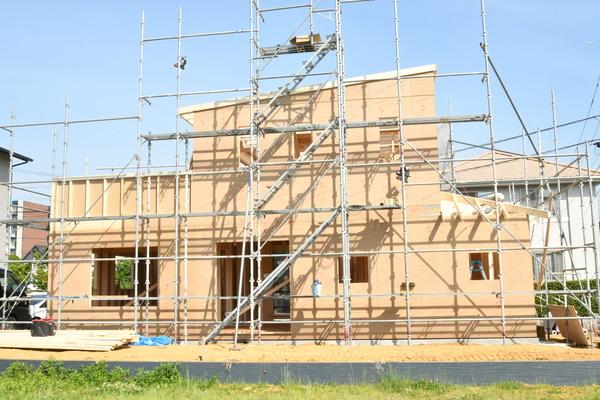 新築工事開始